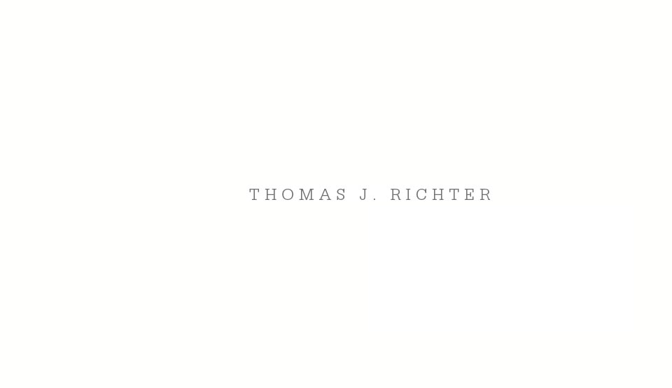 Thomas J. Richter